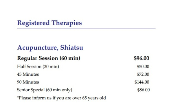 registered-therapies-pricelist